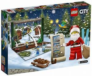 Calendrier Avent 2017 : lego city 60155 pas cher calendrier de l 39 avent lego city ~ Zukunftsfamilie.com Idées de Décoration
