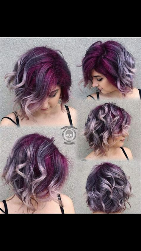 25 Best Plum Purple Hair Ideas On Pinterest Plum Hair