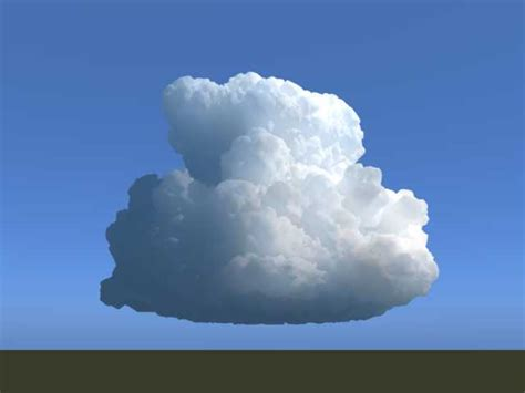 Cumulonimbus cloud - 3D Model - ShareCG