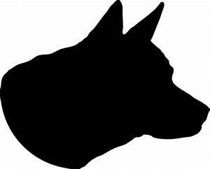 Image - 210039 Dog-Head-Silhouette.png | Animal Jam Clans ...