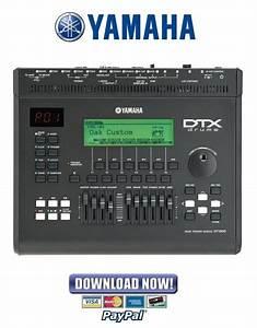 Yamaha Dtx900   Dtx3 Drum Trigger Module Service Manual