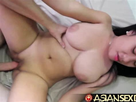 Asian Sex Diary White Cock Fucks Asian Babe With Sensational Tits Free Porn Videos Youporn