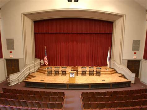 auditorium  theater facilities event planning