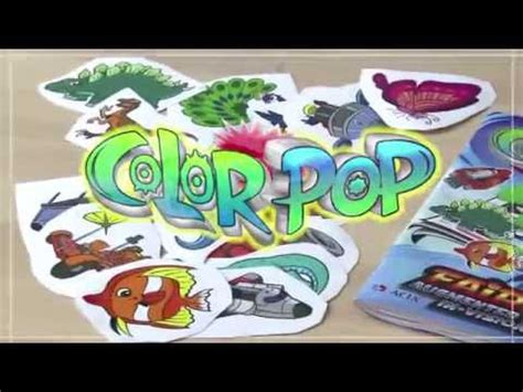 color pop augmented reality ar interactive educational coloring book youtube