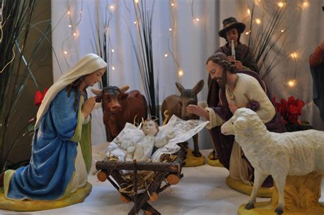 christmas crib scene archdiocese of cardiff news archbishop george stack