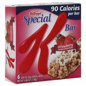 Kellogg's Special K Cereal Bars Strawberry - 6 ct