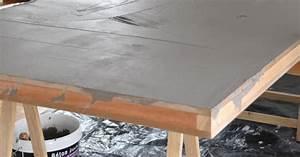 Beton Tisch Diy : diy tischplatte in betonoptik roomilicious ~ A.2002-acura-tl-radio.info Haus und Dekorationen