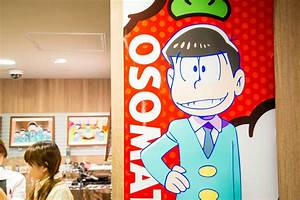 Osomatsu-san Collaboration Cafe Opens at Animate Cafe ...