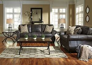 Breville Charcoal Sofa Set Louisville Overstock Warehouse