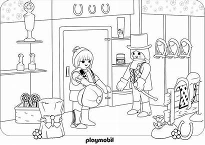 Coloring Playmobil Pages Shopping Ghostbusters Puft Stay