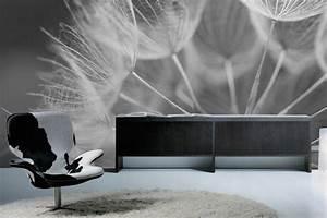 Papier Peint Arbre Noir Et Blanc : papier peint nature izoa ~ Nature-et-papiers.com Idées de Décoration