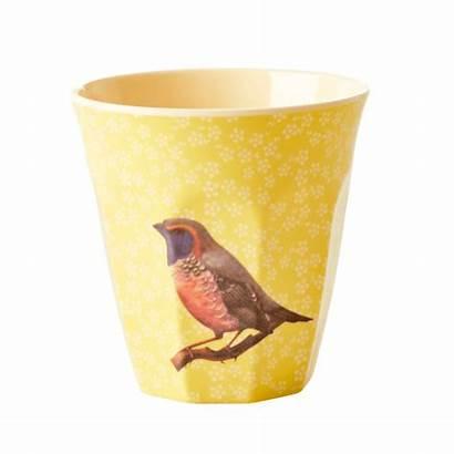 Rice Bird Cup Melamine Yellow Beker Melamin