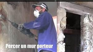 Ouverture Dans Un Mur Porteur : mur porteur percer un mur how to drill a bearing wall to ~ Melissatoandfro.com Idées de Décoration