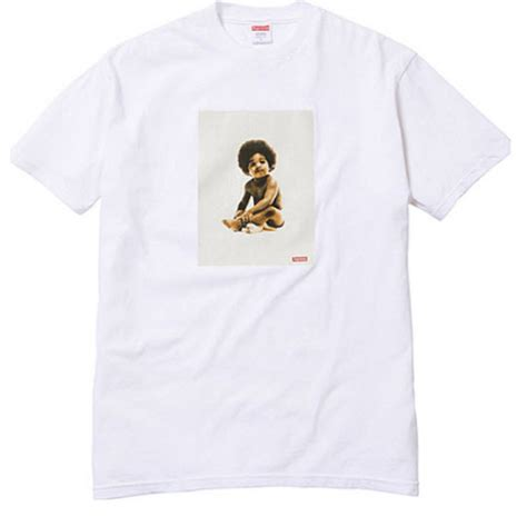 supreme t shirt supreme x biggie badboy t shirt collection white