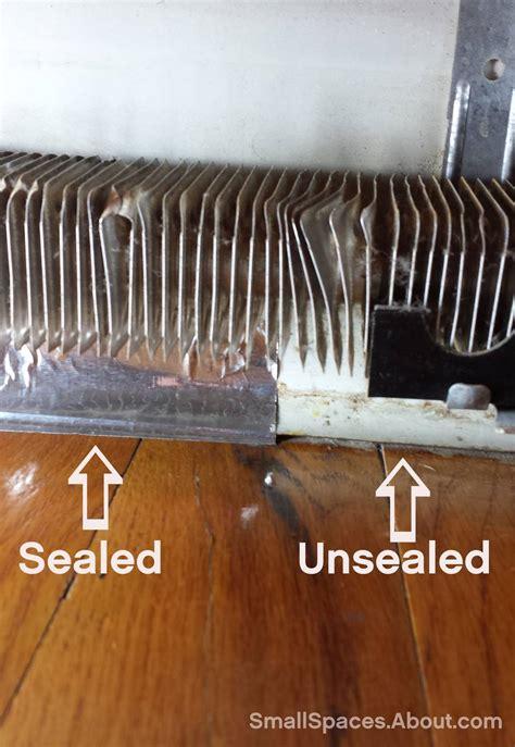 clean baseboard heaters