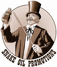Image result for snake oil salespeople