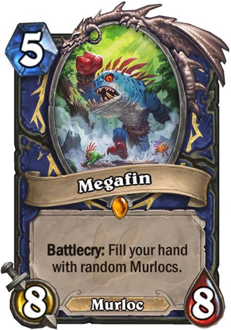 murloc shaman deck no quest megafin hearthstone card