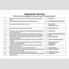 Employability By Artyspice  Teaching Resources