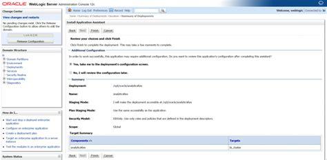 Deploy A Custom Folder In Obiee 12c Server (the Old