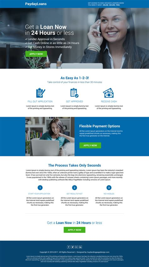 payday loan right now landing page 36 payday loan landing page design preview