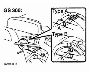 1998 Lexus Gs 300 Serpentine Belt Routing And Timing Belt