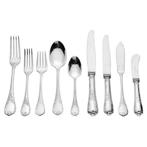 christofle flatware silver marley betteridge sets collection estate luxury sterling cutlery pieces settings