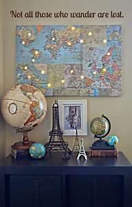 Carte Du Monde Deco : des id es de d co fascinantes avec une carte du monde bricobistro ~ Teatrodelosmanantiales.com Idées de Décoration