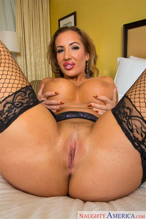 Sexy Woman Is Wearing Black Lingerie Photos Richelle Ryan