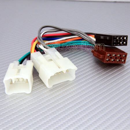 Toyotum Wiring Connector by Toyota 16 Pin Iso Car Stereo Audio Wire Connector Loom Ebay