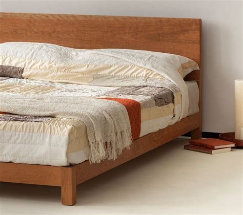 special offer  display solid cherry wood bed