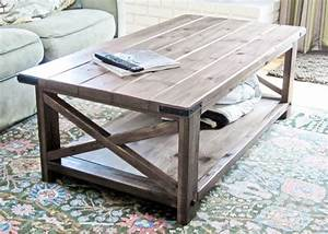 Gorgeous diy coffee tables 12 inspiring projects to upgrade for Rustic coastal coffee table