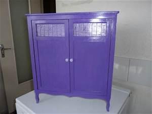 Meuble Pour Vetement : meuble pour vetement de poupee en acrylique violet cr ation peinture multi supports de ~ Teatrodelosmanantiales.com Idées de Décoration