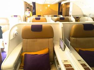 A 380 THAI Airways Royal First Class - YouTube