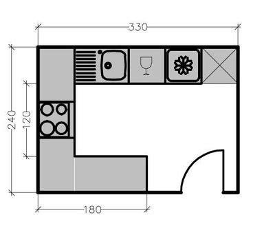 plan de cuisine en u 15 plans de grandes cuisines côté maison