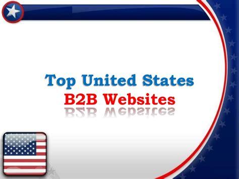 best b2b websites most popular united states b2b websites