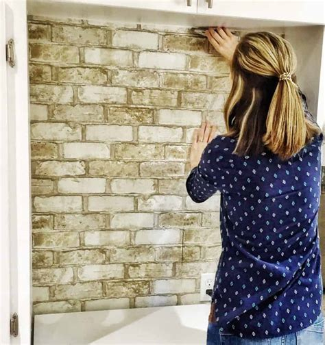 apply wallpaper peel  stick  regular wallpaper