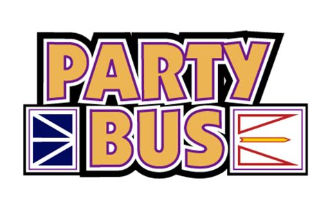party bus logo all shook up opening night gala nov 10 the suncor