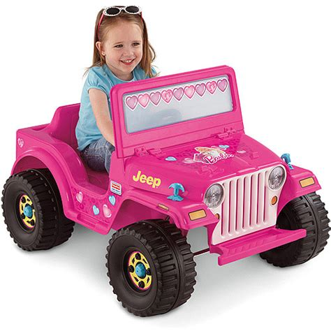 jeep power wheels for girls fisher price power wheels girls 39 barbie jeep 6 volt