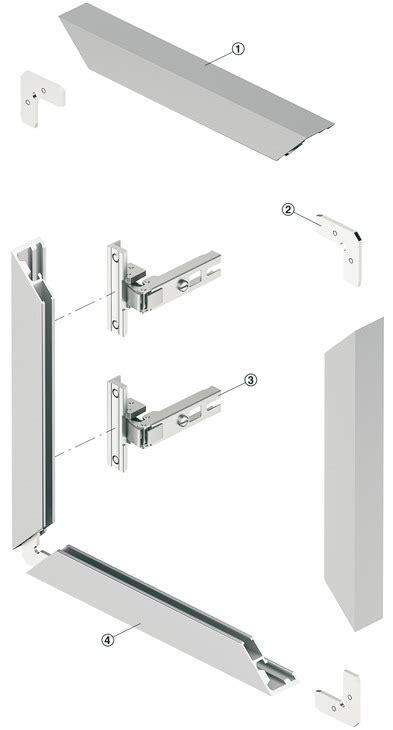 profil 233 de cadre en aluminium pour vitre pour 233 paisseur de verre 4 mm dans la boutique h 228 fele