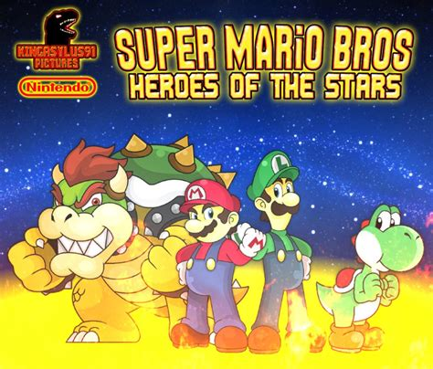 Smb Heroes Of The Stars Poster 2015 By Asylusgoji91 On