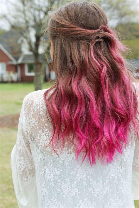ideen fuer rosa haare die besten bilder aus dem