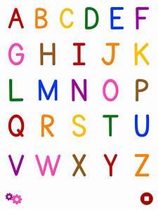 Alphabet Flash Cards App Colorful Abc Alphabet Flashcard For Kindergarten Kids