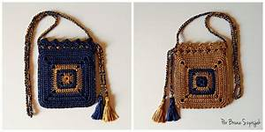 Ergahandmade  Crochet Bag   Diagram