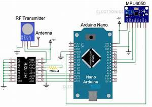 Rf Transmitter Receiver Circuit Diagram