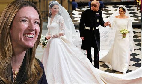Markle Wedding Dress :  Designer Compares Kate And