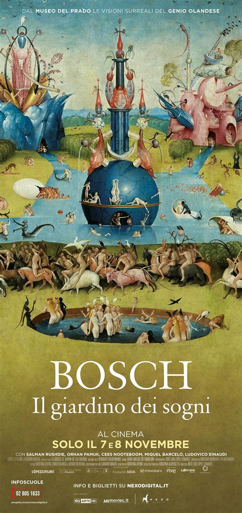 Bosch Il Giardino Dei Sogni  Nuovo Cinema Castello