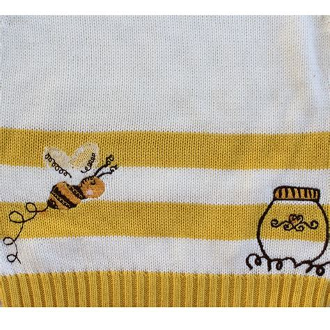 Bumble Bee Knitted Jumper   Powell Craft