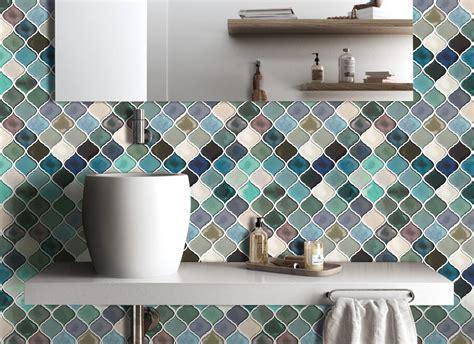 adhesive tilespeel  stick tile backsplash