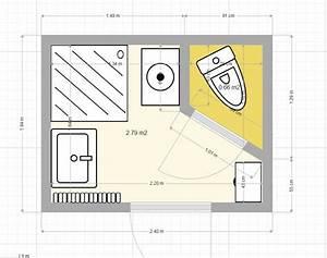 delicieux comment faire un plan de salle de bain 1 With comment faire un plan de salle de bain