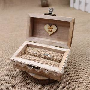 rustic wedding ring box holder custom custom ring box With unique wedding ring boxes